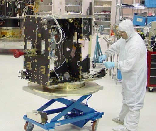 GEOStar-1 under construction - Photo: Orbital ATK