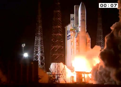 Photo: Arianespace Webcast