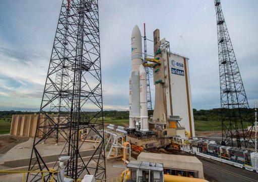 Photo: Arianespace/ESA/CNES/Optique Video du CSG
