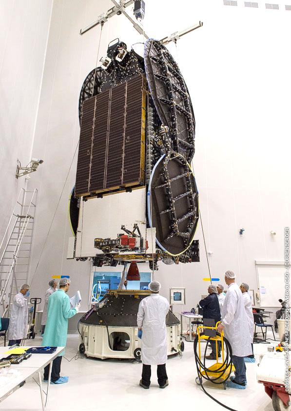Photo: Arianespace/ESA/CNES