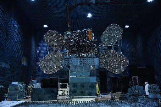 BRIsat during Pre-Launch Testing - Photo: SS/L