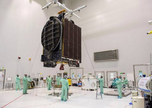 Intelsat 36 - Photo: Arianespace/ESA/CNES/Optique Video du CSG