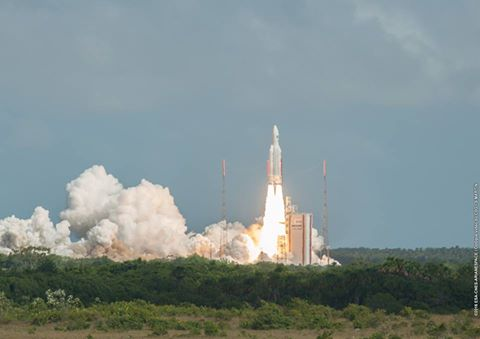 Photo: Arianespace/ESA/CNES/Optique Video du CSG