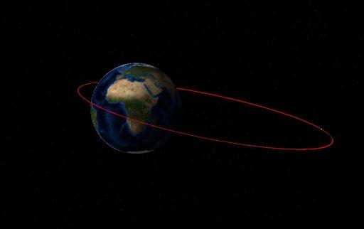 NROL-61 Initial Orbit