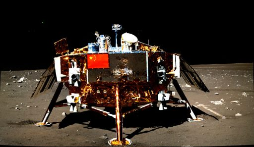 Chang'e 3 Lander - Photo: China Academy of Science