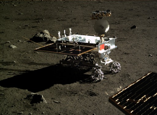 Yutu (Jade Rabbit) Rover - Image: National Astronomical Observatories of China