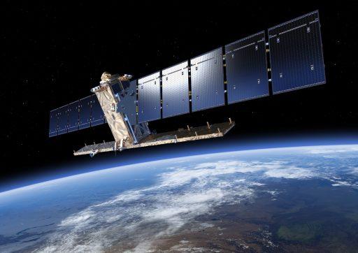 Sentinel-1 Satellite - Image: ESA