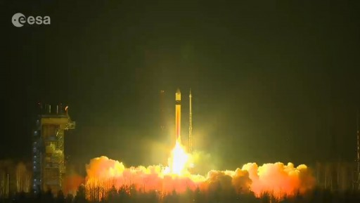 Photo: ESA Launch Broadcast