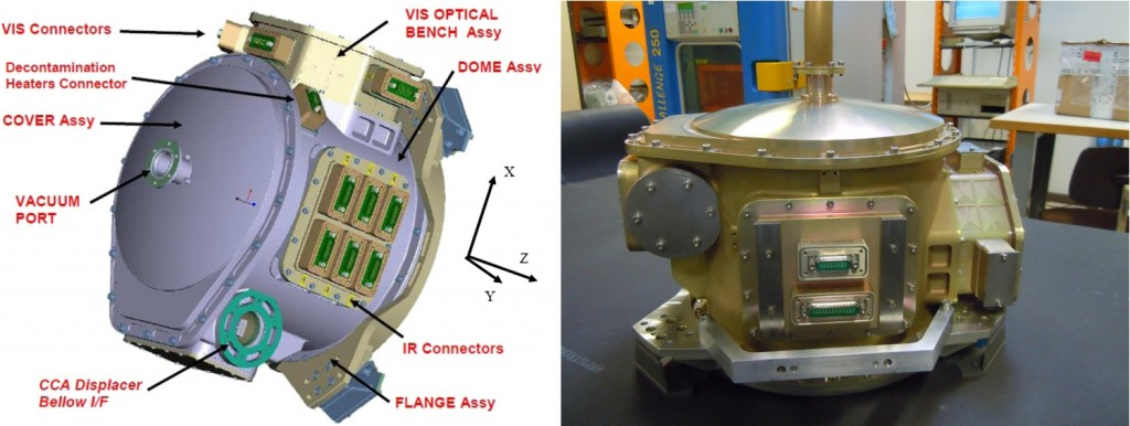 SLSTR Focal Plane Assembly - Photo: ESA/TAS