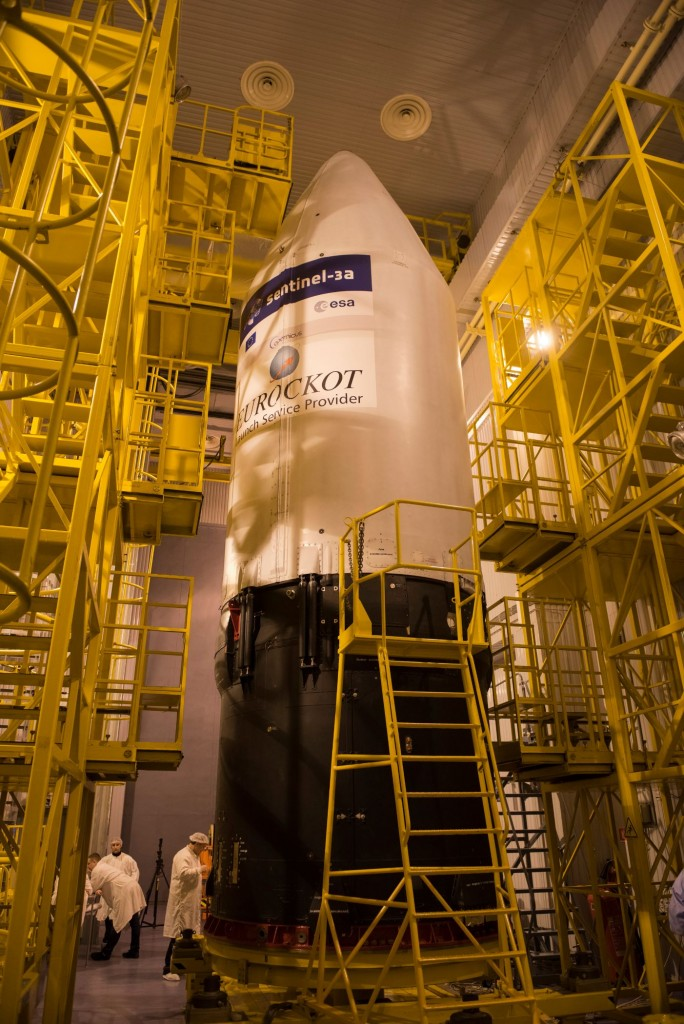 The_Sentinel-3A_logo_has_been_applied_to_the_Rockot_fairing2