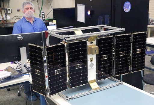 CYGNSS Satellite during Testing - Photo: NASA