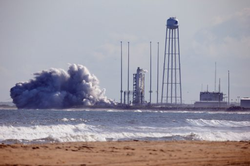 Antares 200 Series Hot Fire - Photo: Orbital ATK
