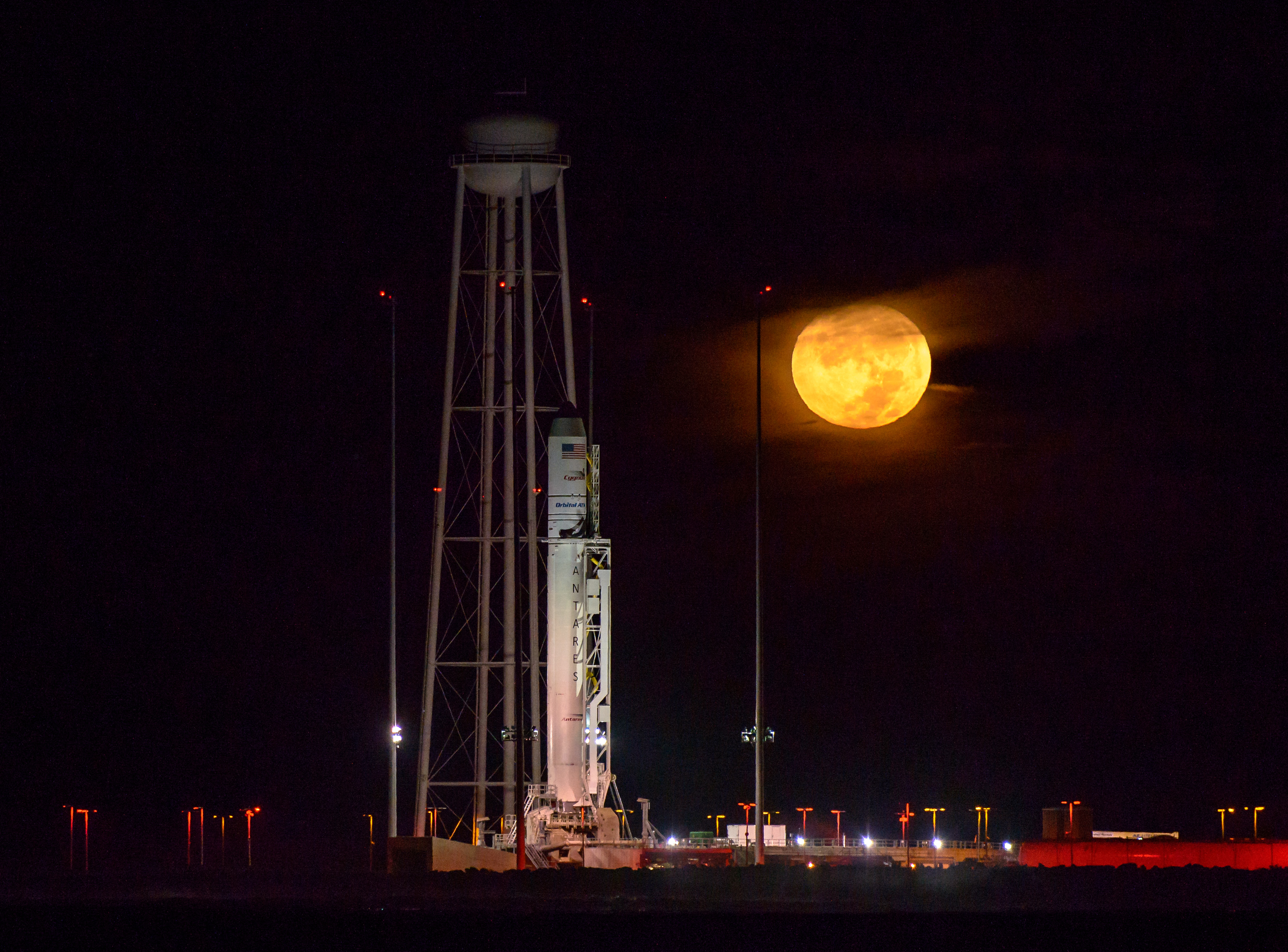 Photo NASABill Ingalls Revamped Antares cleared for