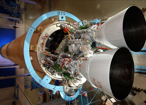 Atlas V's Business End with RD-180 Engine - Photo: NASA