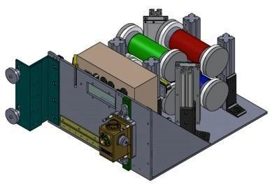 Internal View of Experiment Assembly - Photo: NASA