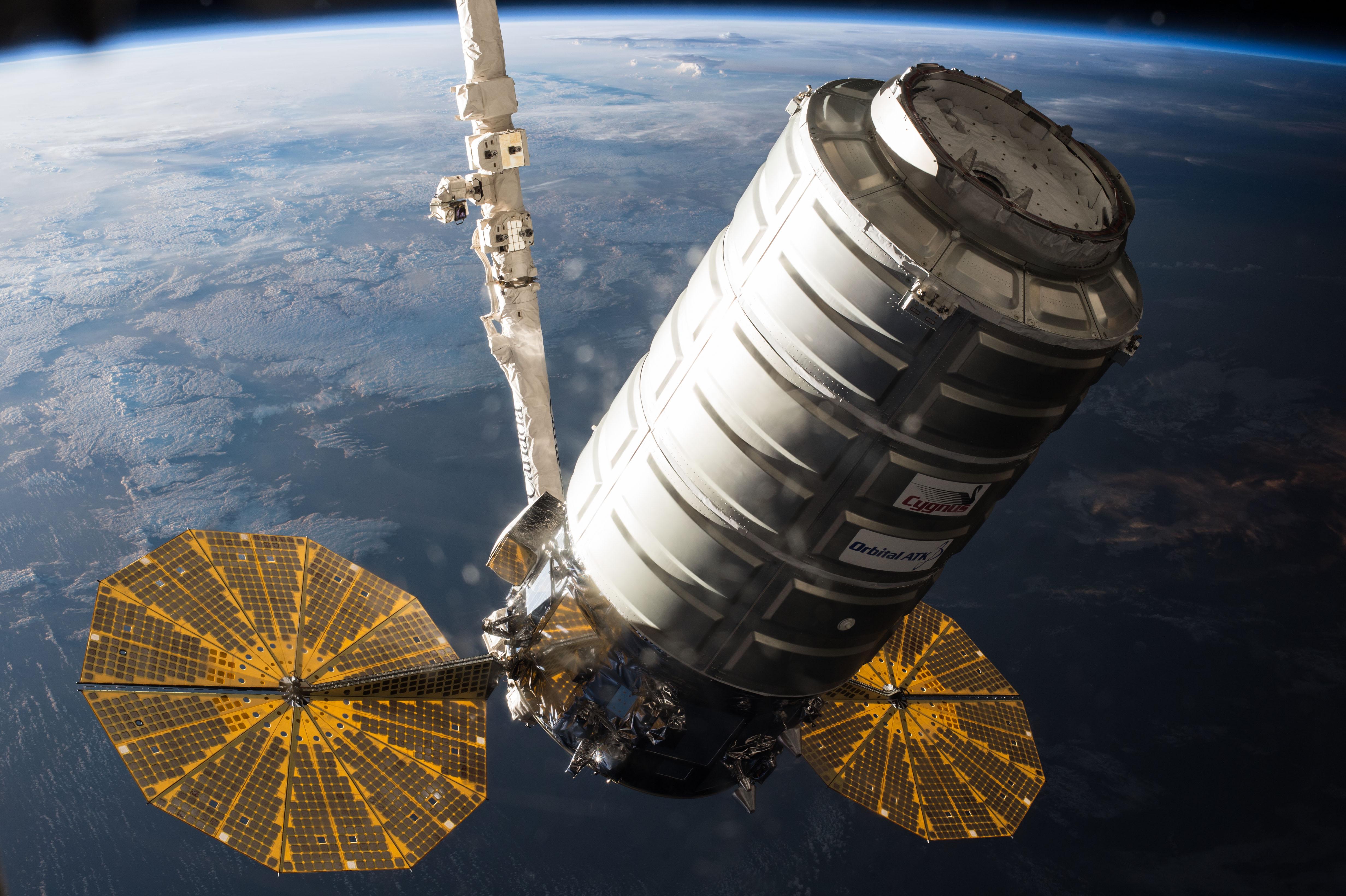 Cygnus Set To Depart ISS For Week-Long Free Flight & In