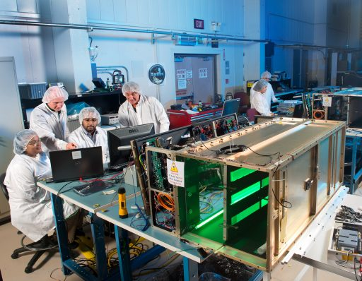 SAFFIRE Experiment Hardware (SAFFIRE II in foreground, I in background) - Photo: NASA