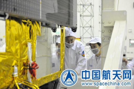 Shijian-17 - Image: CASC