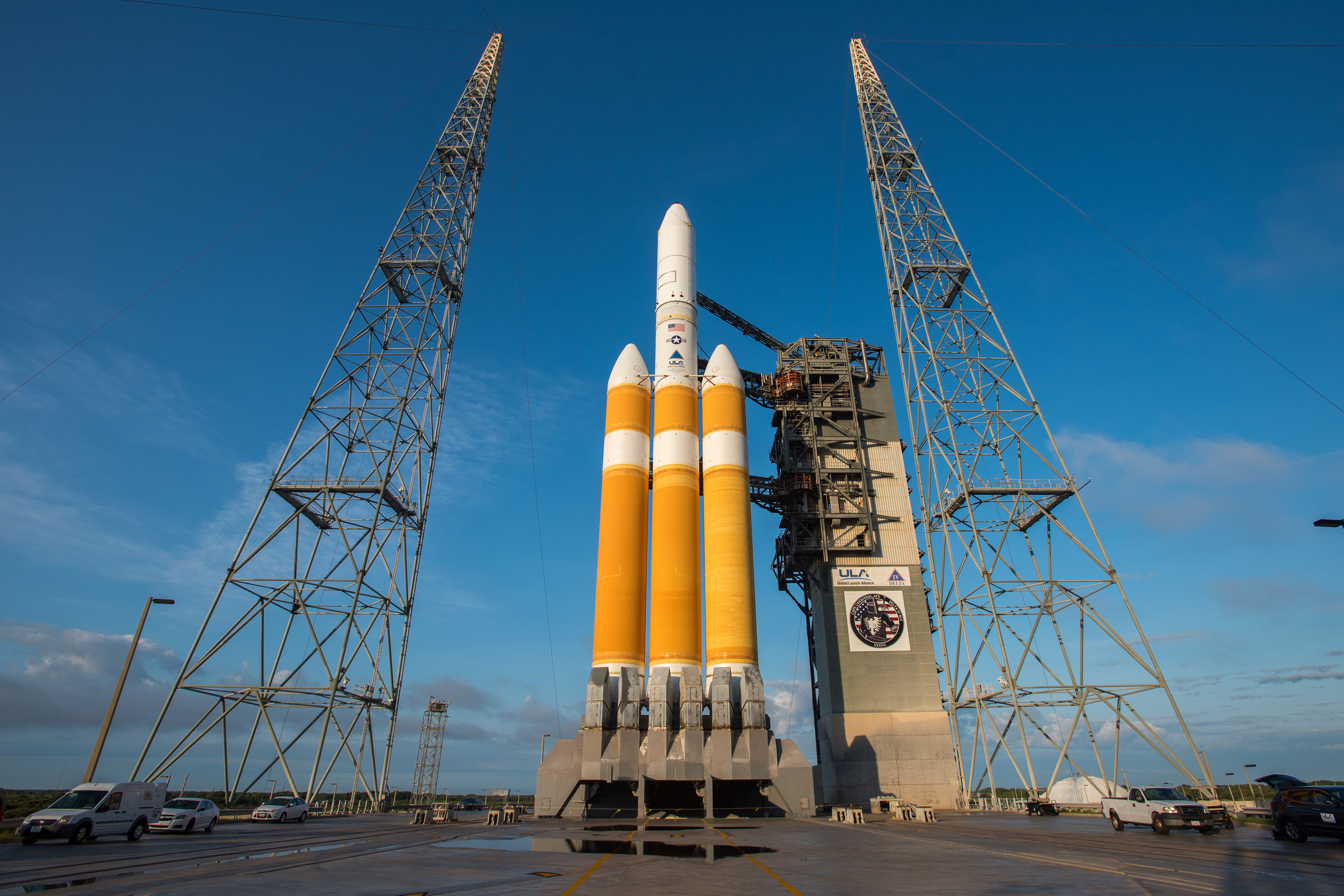 Uncooperative Weather scrubs Delta IV Heavy Launch after extended ...