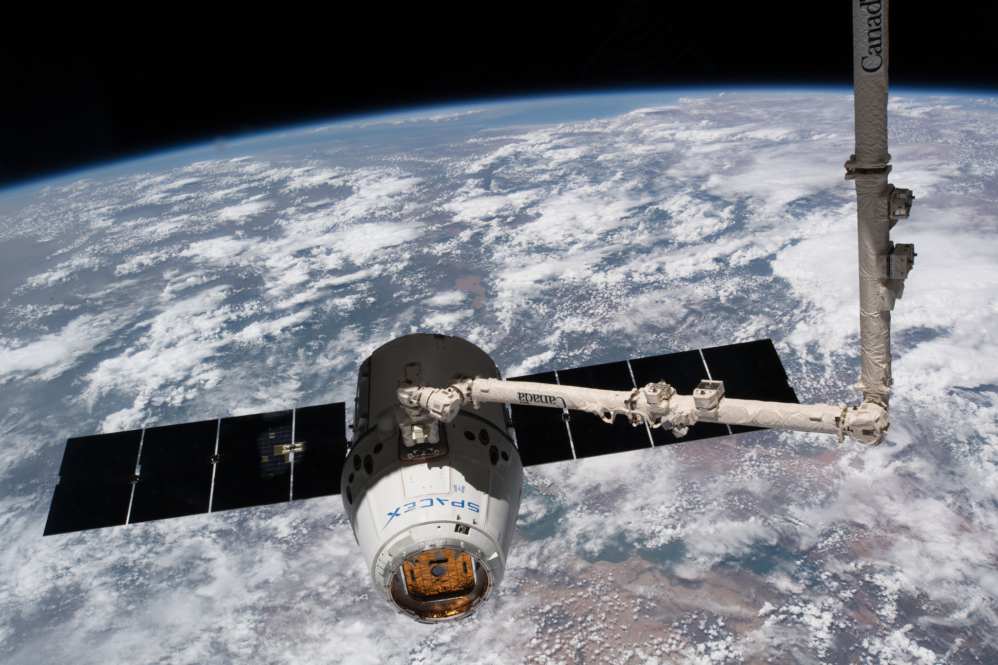 ISS Receives new External Research Facilities & Spare Pump