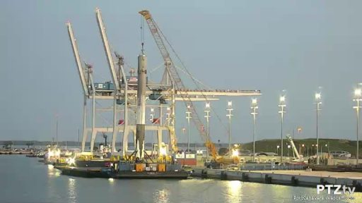 Photo: Port Canaveral Webcam