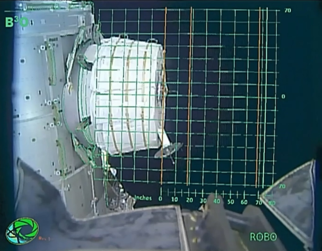 Expandable Space Station Module set for Second Deployment