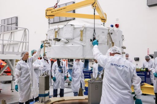 IDA-2 Installation - Photo: NASA