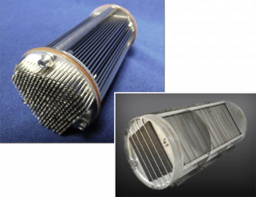 Microtube Heat Exchanger - Image: NASA/Mezzo Technologies'