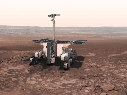 ExoMars 2020 Rover - Image: ESA