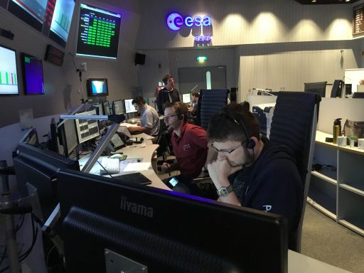 Simulations at the European Space Operations Center - Photo: ESA