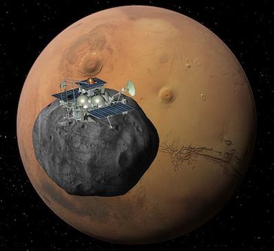 Phobos-Grunt - Image: Roscosmos