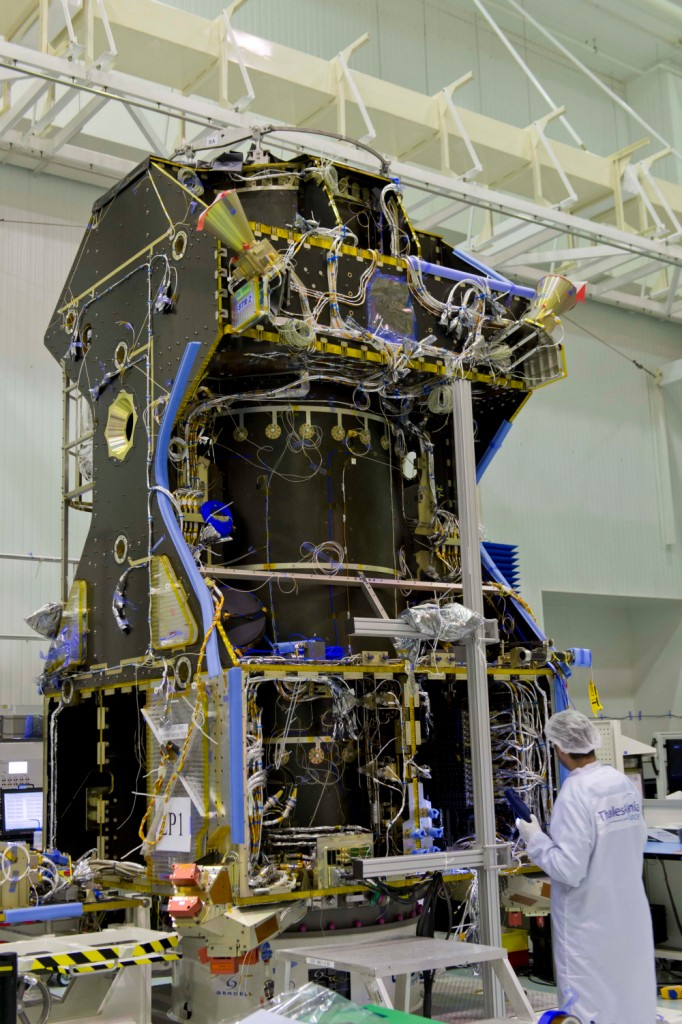 TGO Core Module with PCU - Photo: ESA
