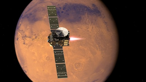 ExoMars_2016_TGO_enters_orbit