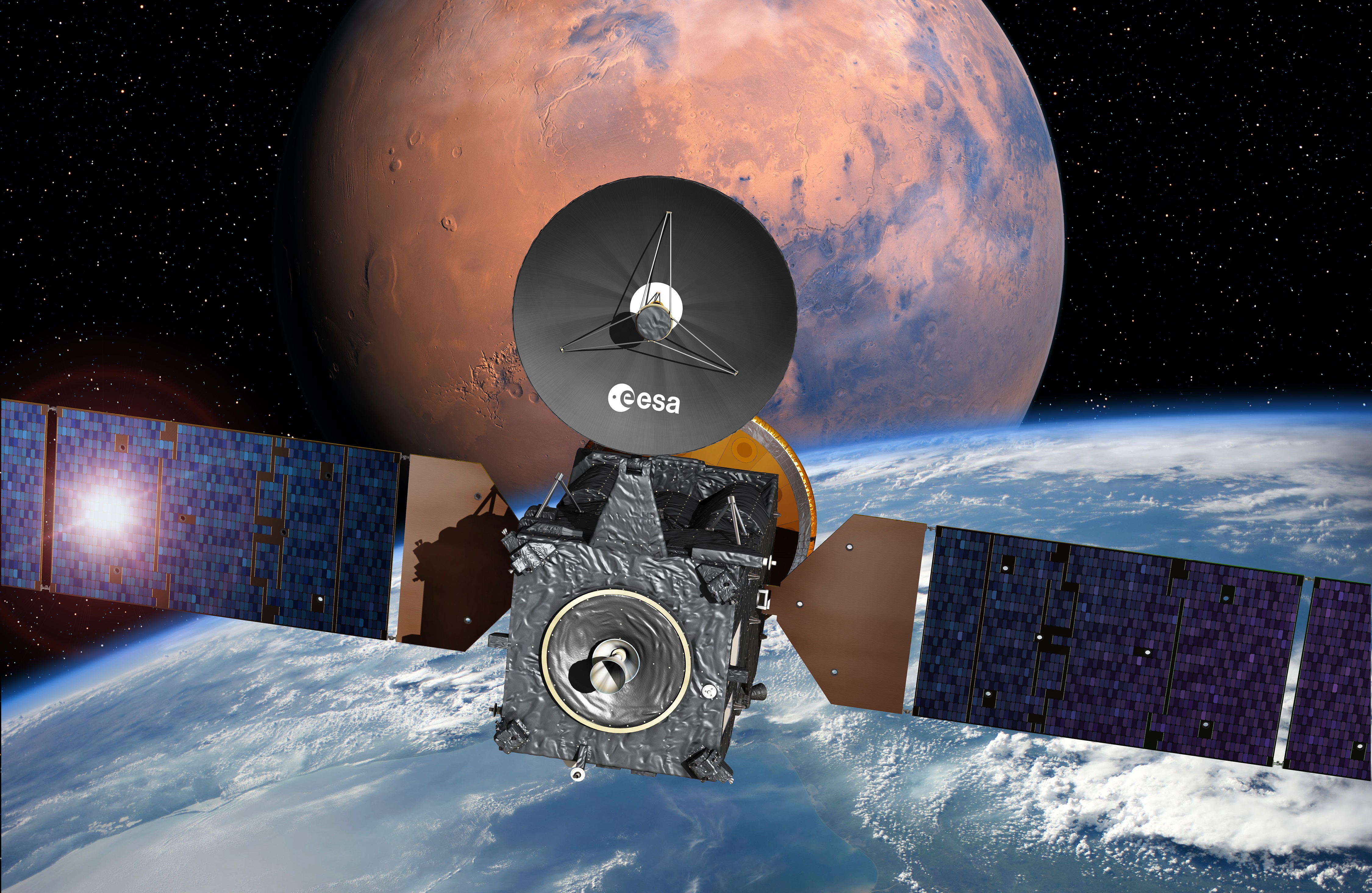 Exomars 2016 Bound For Mars After Smooth Launch On Proton