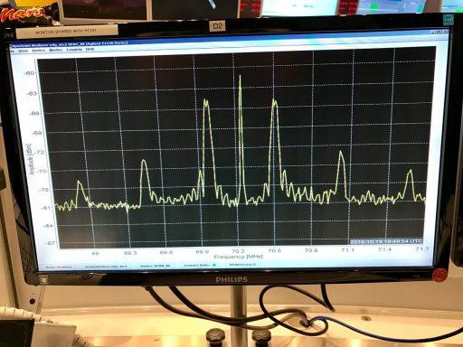 Good Signal Lock on the Orbiter - Photo: ESA