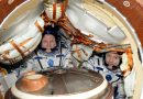 Soyuz Spacecraft set for Pre-Sunset Landing with Two Space Station Crew Members
