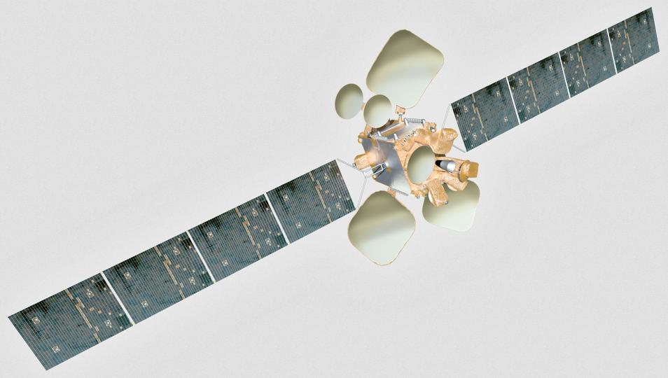 Amos 6 satellite
