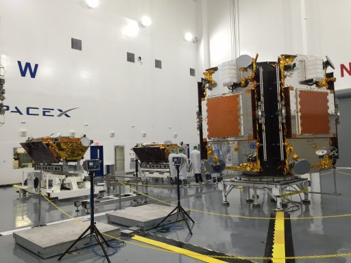 Iridium-NEXT Satellites in final pre-launch processing - Photo: Iridium