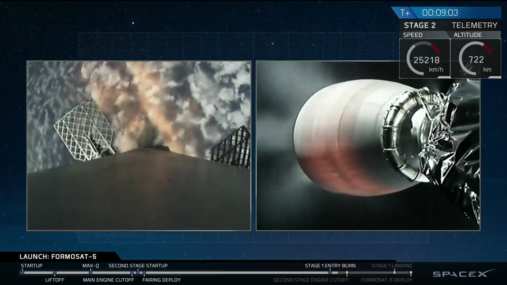 stage 1 entry burn photo spacex webcast