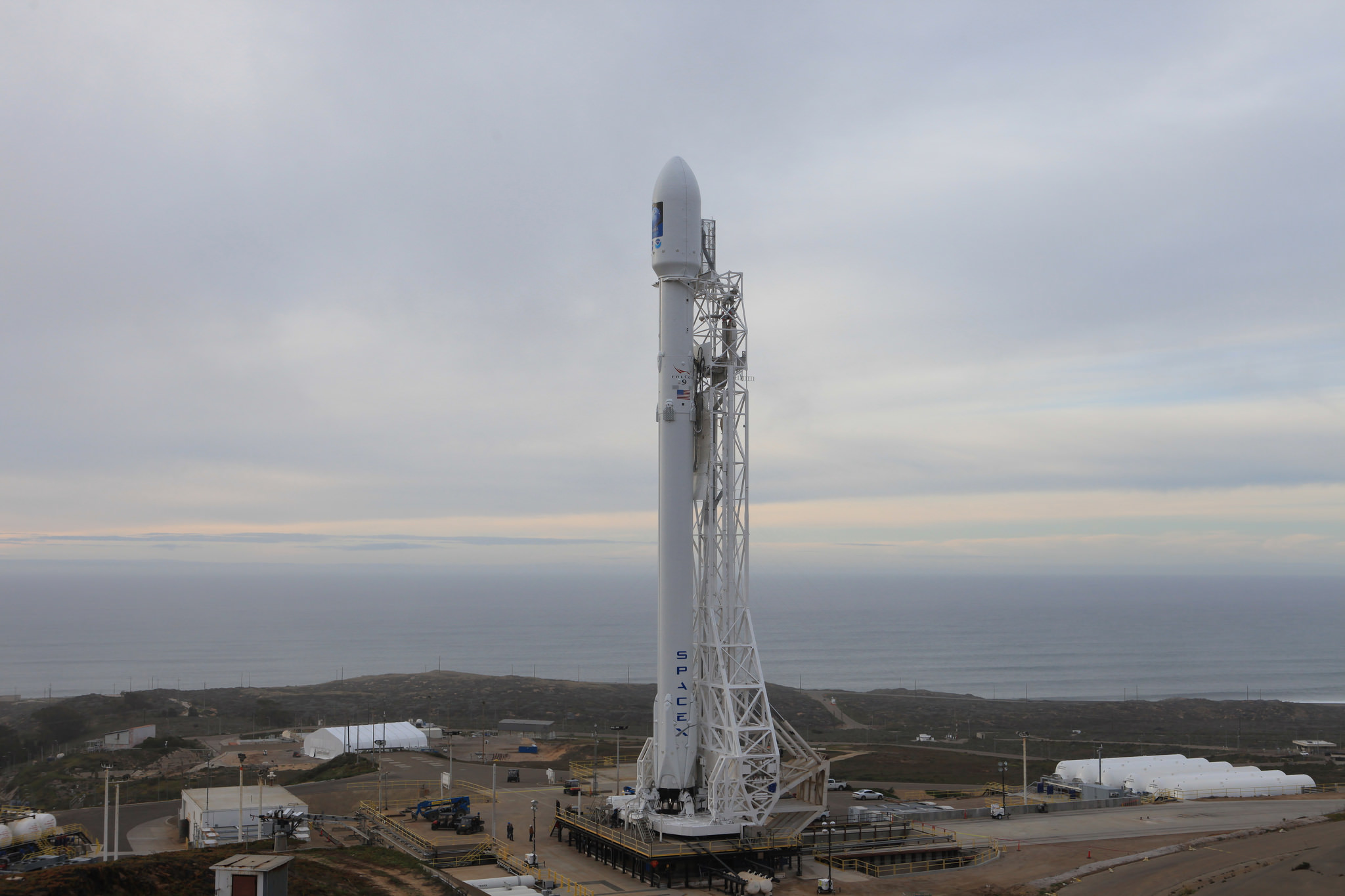 SpaceX's Falcon 9 Rocket completes Static Fire Test ahead ...