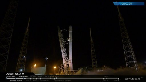 Photo: SpaceX Webcast