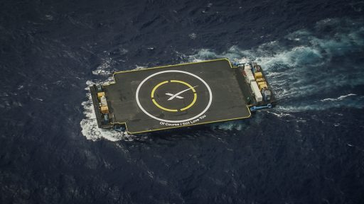 Of Course I Still Love You - Autonomous Spaceport Drone Ship - Credit: SpaceX