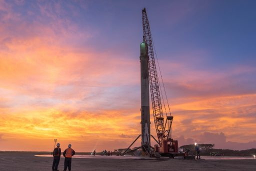 Returned Falcon 9 Core - Photo: SpaceX