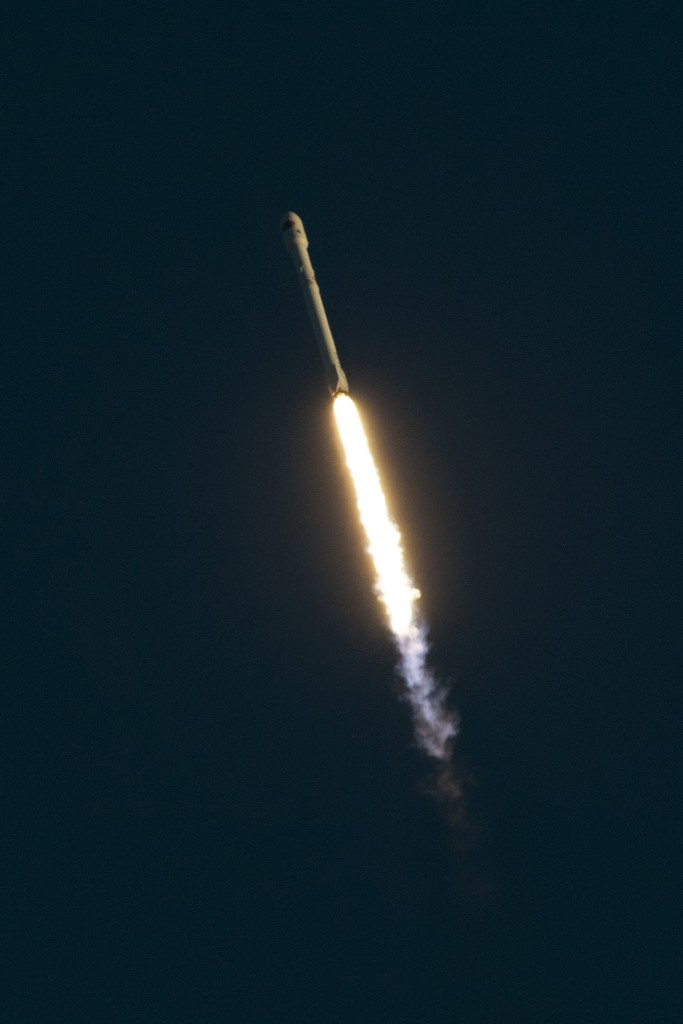 Photo of a previous Falcon 9 Launch from Cape Canaveral - Credit: SpaceX