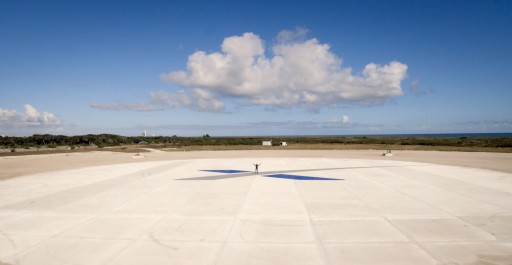 SpaceX Landing Zone 1 - Credit: SpaceX