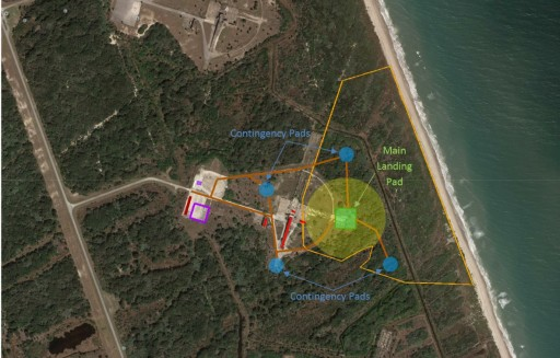 Landing Complex 1 Plans - Image: Federal Aviation Administration