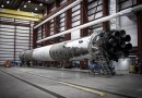 Returned Falcon 9 Booster fires up for Static Fire Test