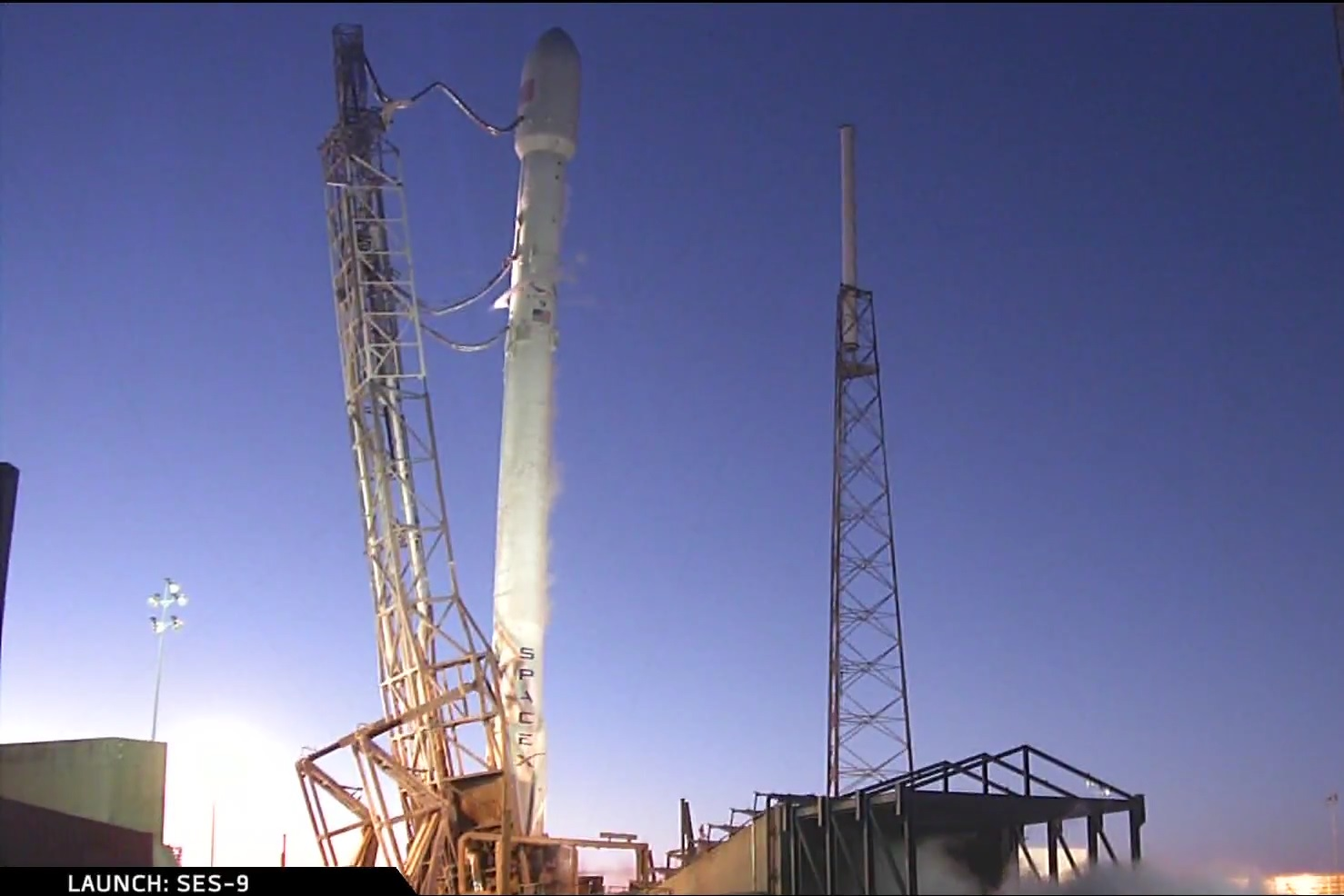 Twilight Launch of Falcon 9 Scrubbed after supercold ...