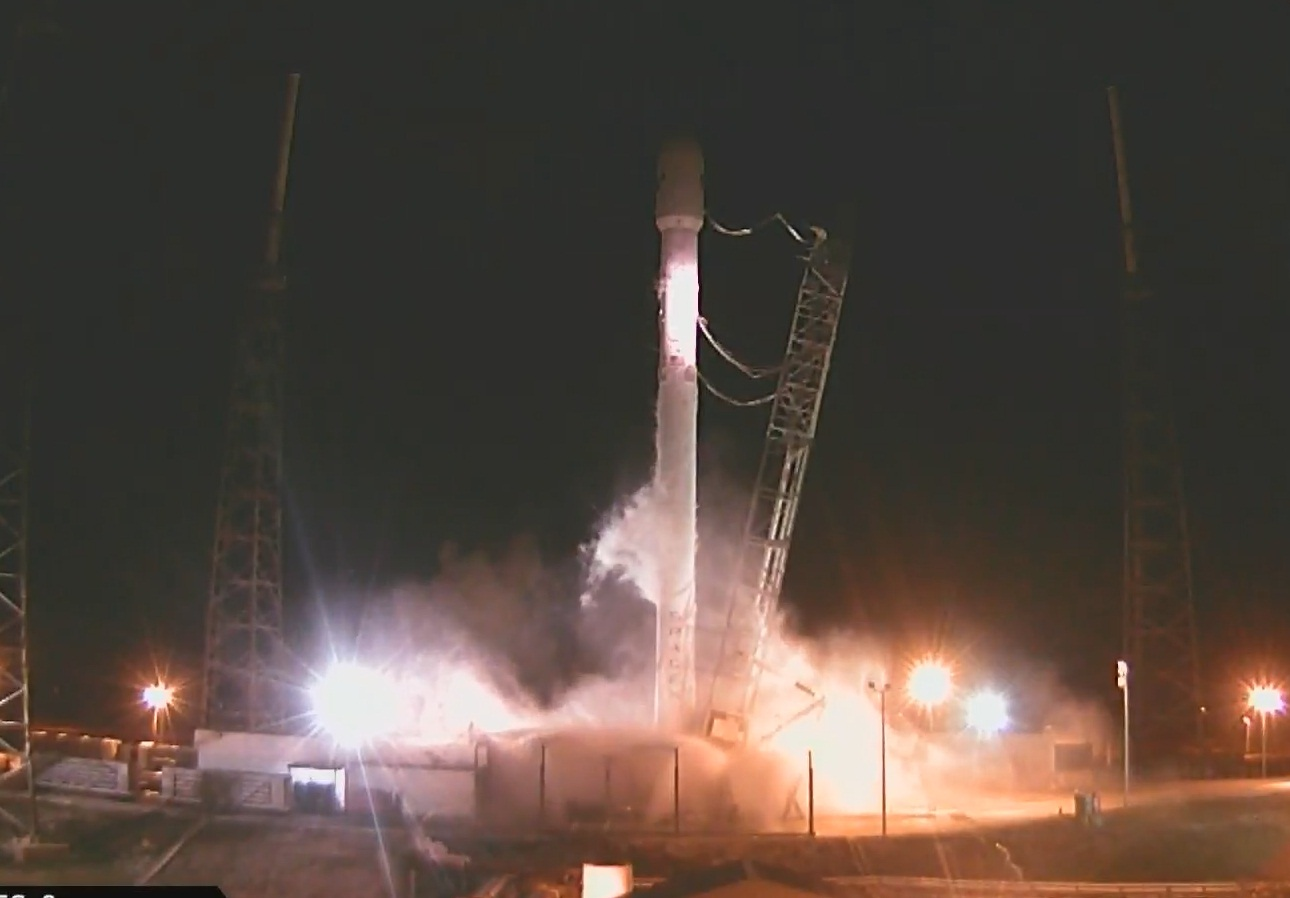Falcon 9 Launch aborted at Ignition splitseconds from