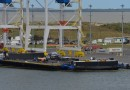 Banged-Up Drone Ship pulls into Port after latest Falcon 9 Landing Attempt